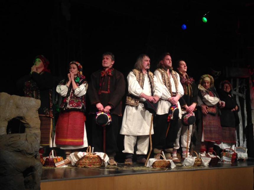 Коломийські театрали повернулися із гастролей в Німеччині