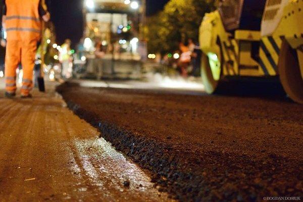 Триває ремонт дорожнього покриття на вул. Незалежності. Асфальтування ділянки від вулиці Лепкого до Січових Стрільців