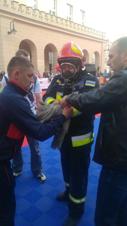 Із 6 по 7 травня в місті Ополе Республіки Польща проходили міжнародні пожежні змагання «Firefighter Combat Challenge»
