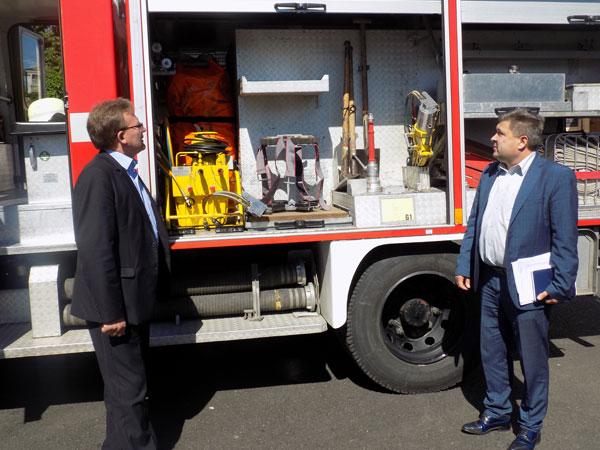 Снятинський районний відділ управління ДСНС в Івано-Франківській області отримав пожежний автомобіль.