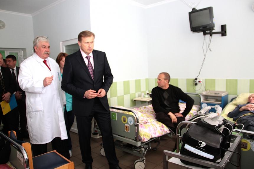 22 травня у Долинській районній лікарні відкрили відділення гемодіалізу