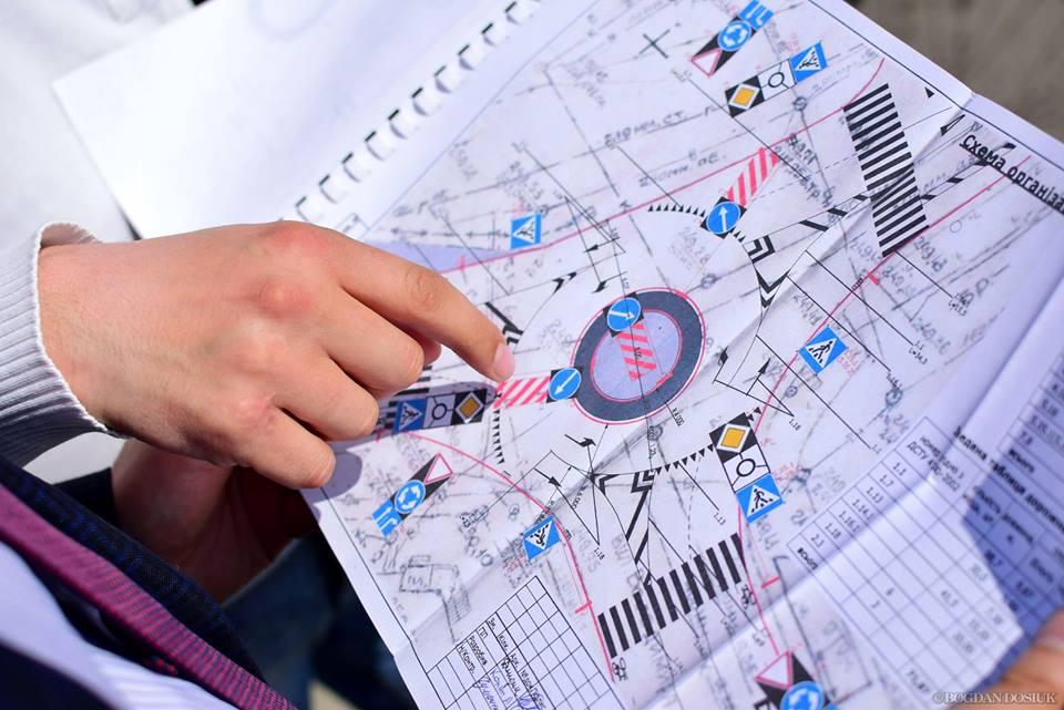У Франківську облаштовують кільце на перетині вулиць Південний бульвар та Володимира Великого. Фото