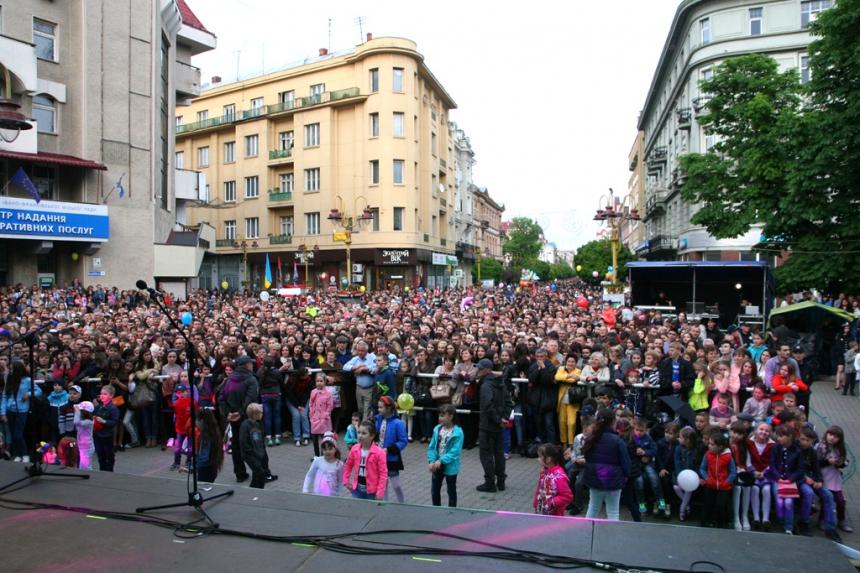 Відбулося закриття другого Міжнародного мистецького фестивалю країн Карпатського регіону «Карпатський простір»