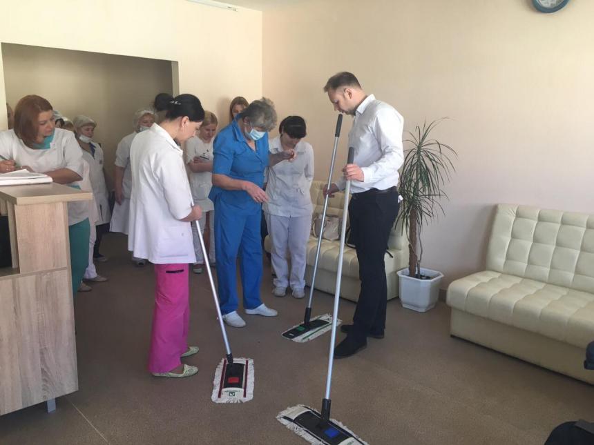 На базі опікового відділення обласної клінічної лікарні працюватиме тренінговий центр. Фото