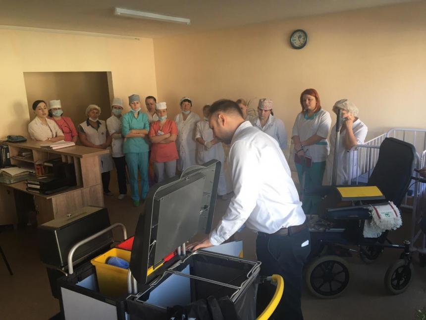 На базі опікового відділення обласної клінічної лікарні працюватиме тренінговий центр