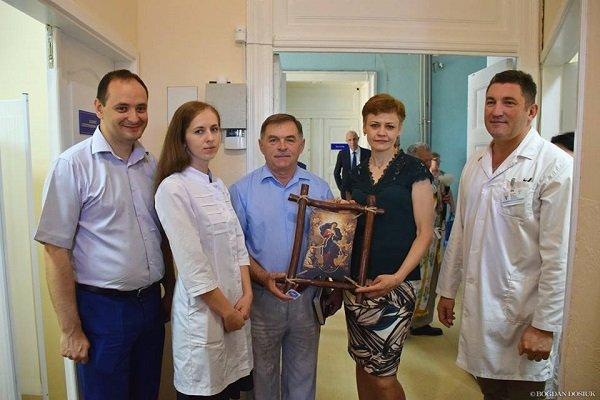 Нейрофізіологічне відділення відкрили в міській клінічній лікарні на вул. Матейки, 1
