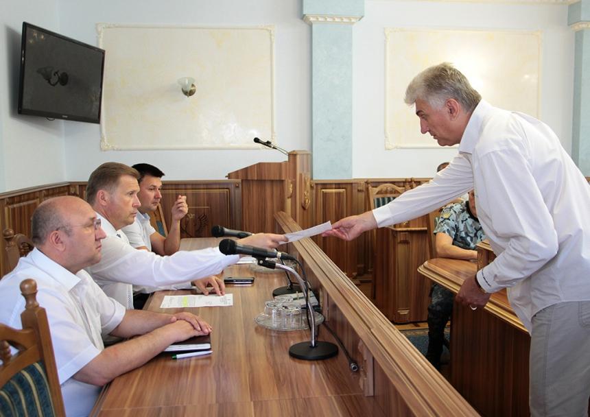 Голова обласної державної адміністрації Олег Гончарук зустрівся із представниками громадської організації «Асоціація ветеранів МВС України»