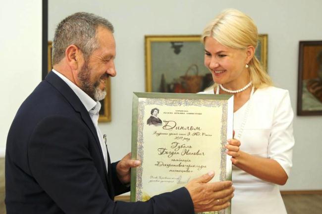 Професор Прикарпатського університету став лауреатом премії імені Іллі Рєпіна